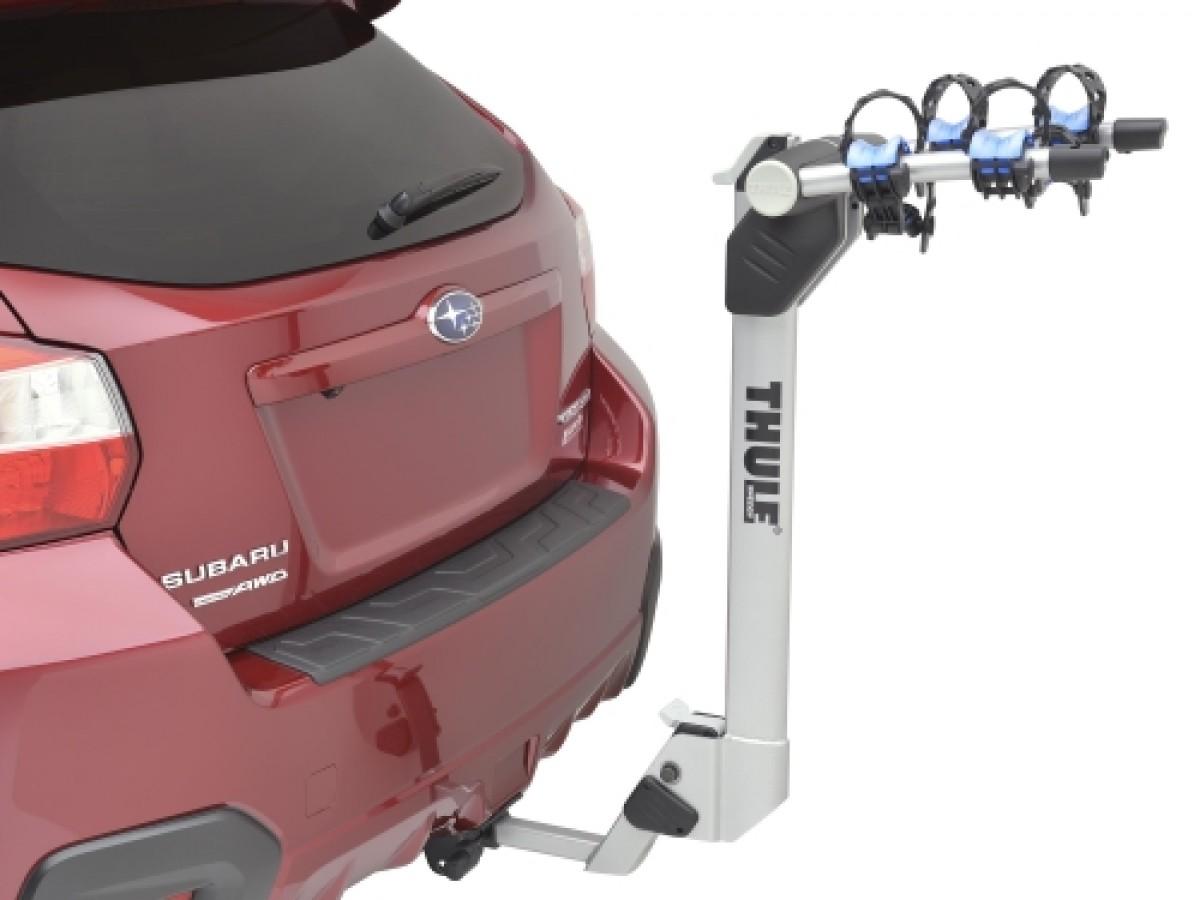 subaru bike carrier hitch mounted