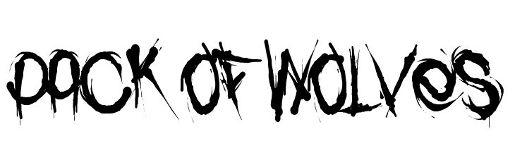 Download P Free Fonts on FFonts.net like Pack In, Pack of Wolves, PAC