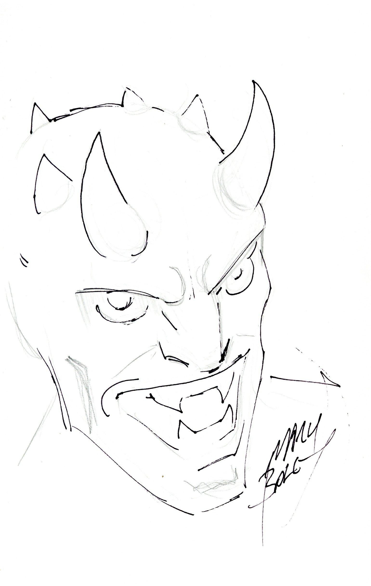 Ultimate Universe Green Goblin Sketch by Mark Bagley