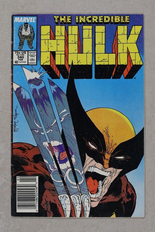 Marvel Comic Book Label