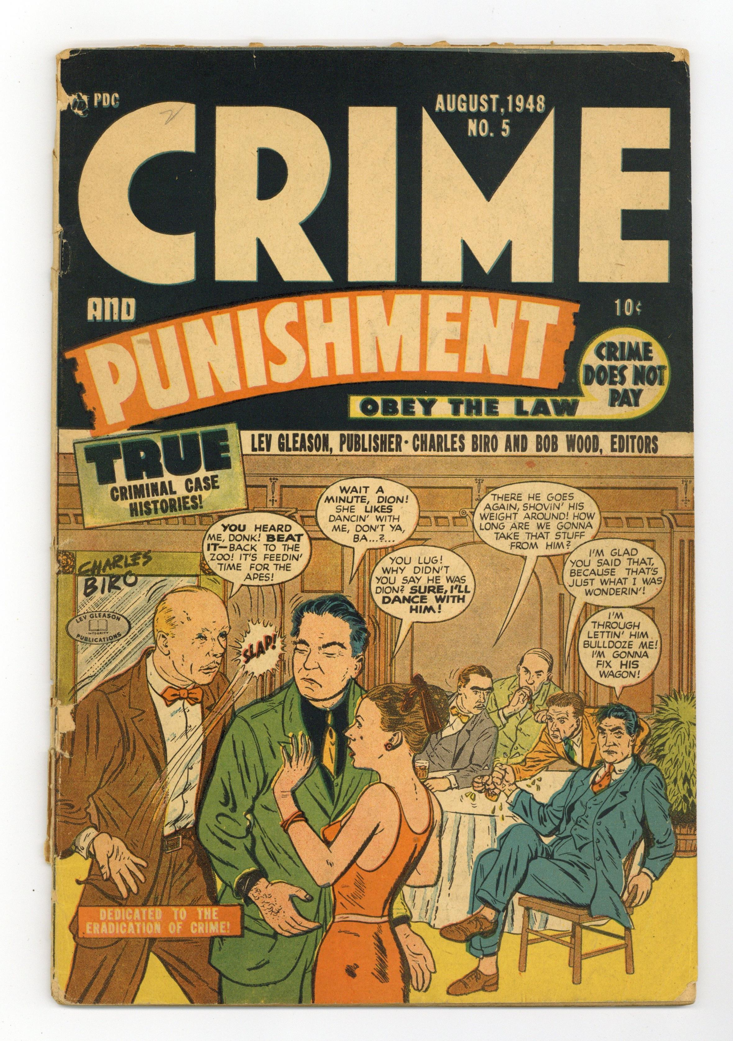 Crime And Punishment 5 Fr Gd 1 5