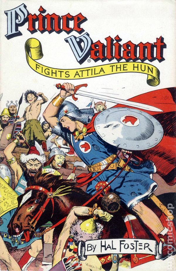 Prince Valiant HC 19511960 Hastings Edition comic books