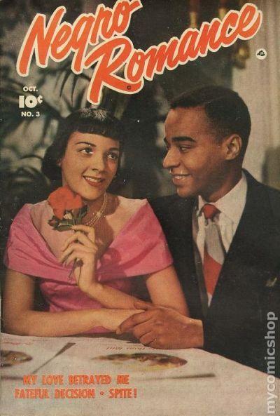 Negro Romance 1950 Fawcett comic books