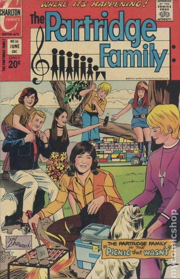 Partridge Family 1971 comic books