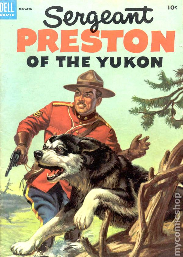 Sergeant Preston of the Yukon 1953 comic books