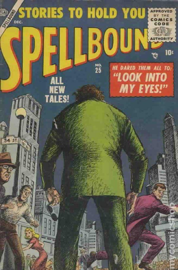 Spellbound 1952 Atlas comic books