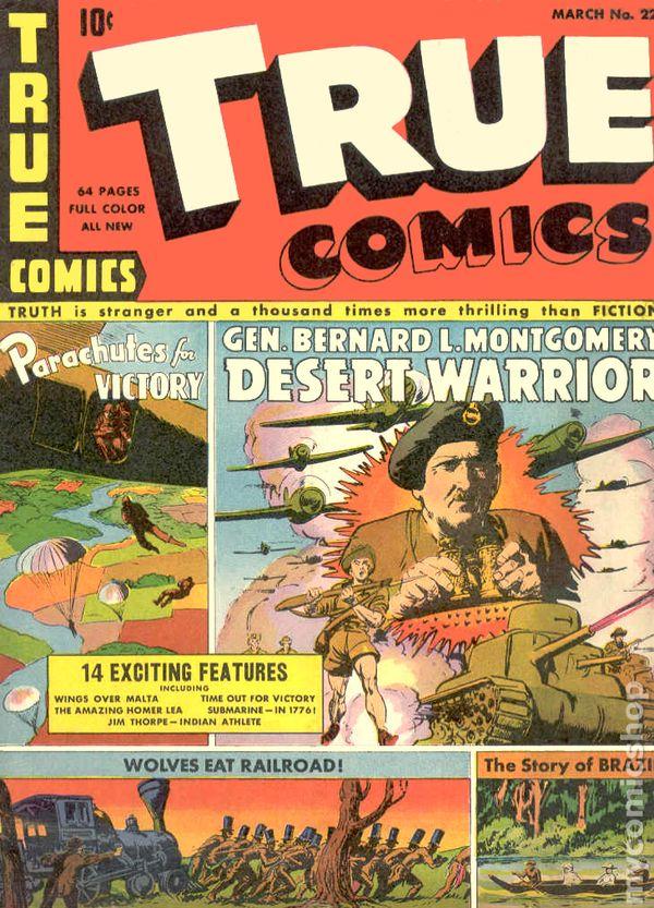 True Comics 1941 comic books