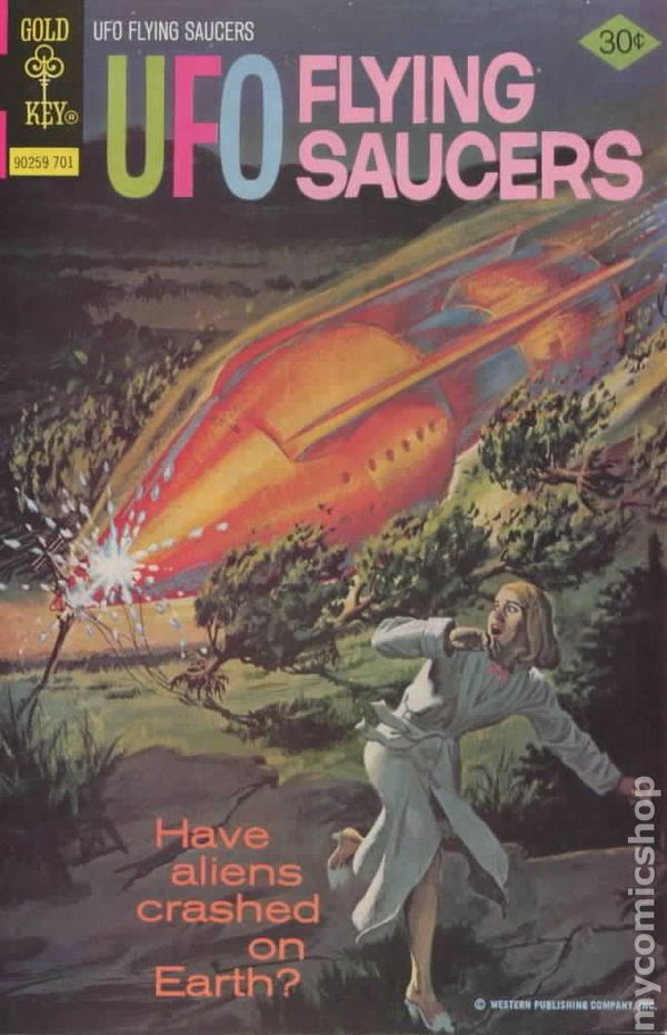 UFO Flying Saucers 1968 Gold Key comic books