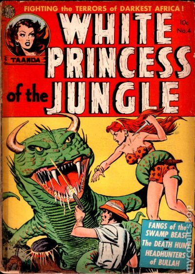 White Princess of the Jungle (1951) comic books
