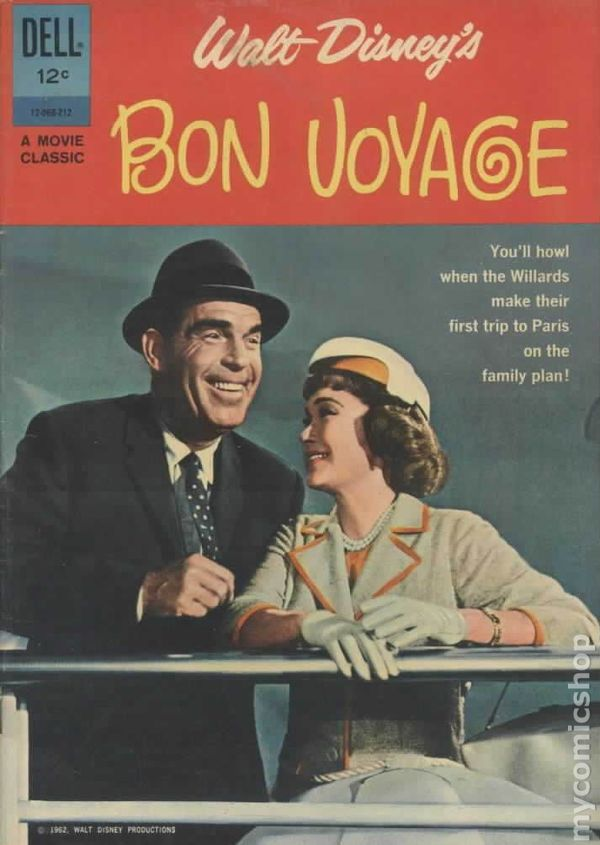 Bon Voyage 1962 Movie Classics Comic Books