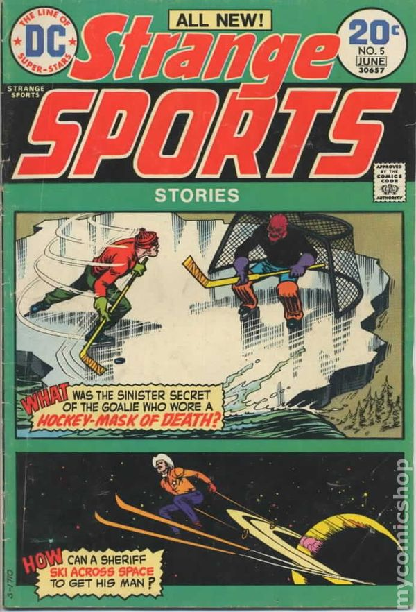 Strange Sports Stories 1973 comic books