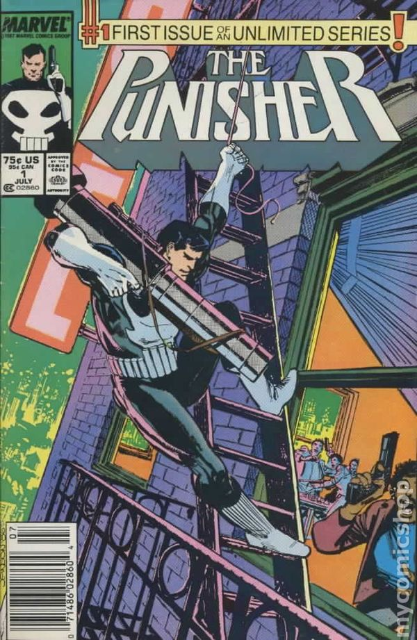 Punisher Comic Books Issue 1