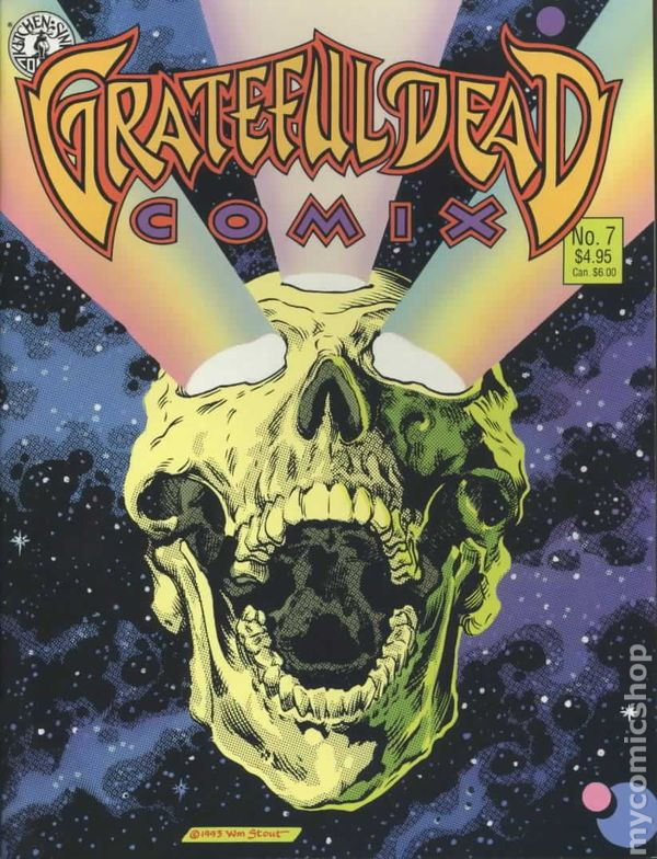kitchen game buy metal cabinets grateful dead comix (1991 1st series) comic books