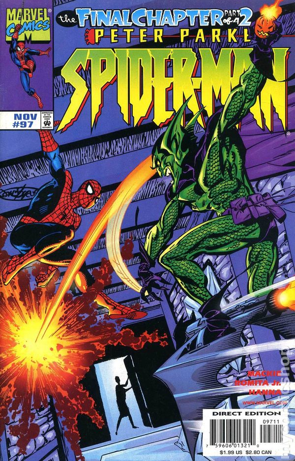Comic books in SpiderMan The Final Chapter