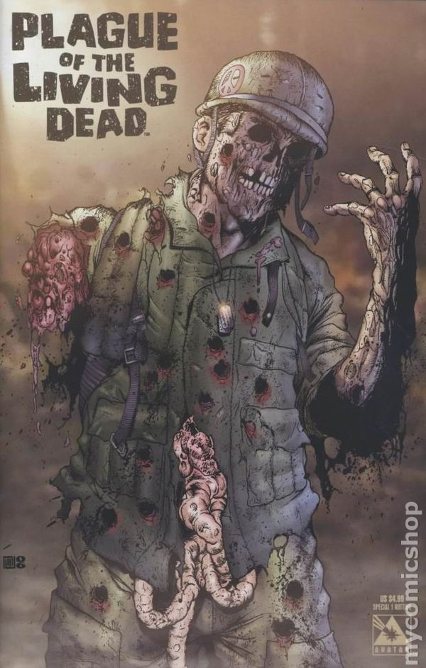 Plague Of The Living Dead Special 2007 Comic Books