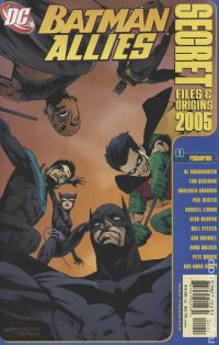 Batman Allies Secret Files and Origins (2005) comic books