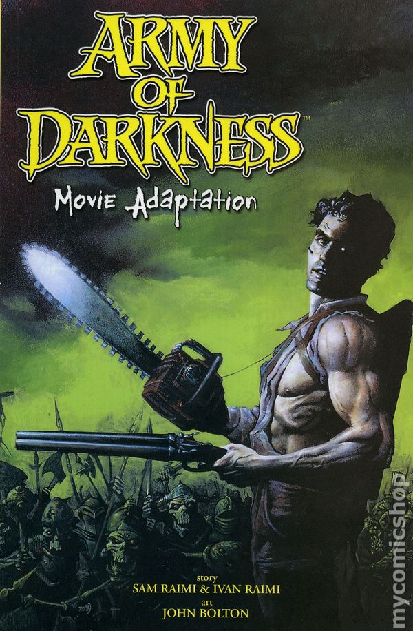 Comic books in Army of Darkness TPB Series