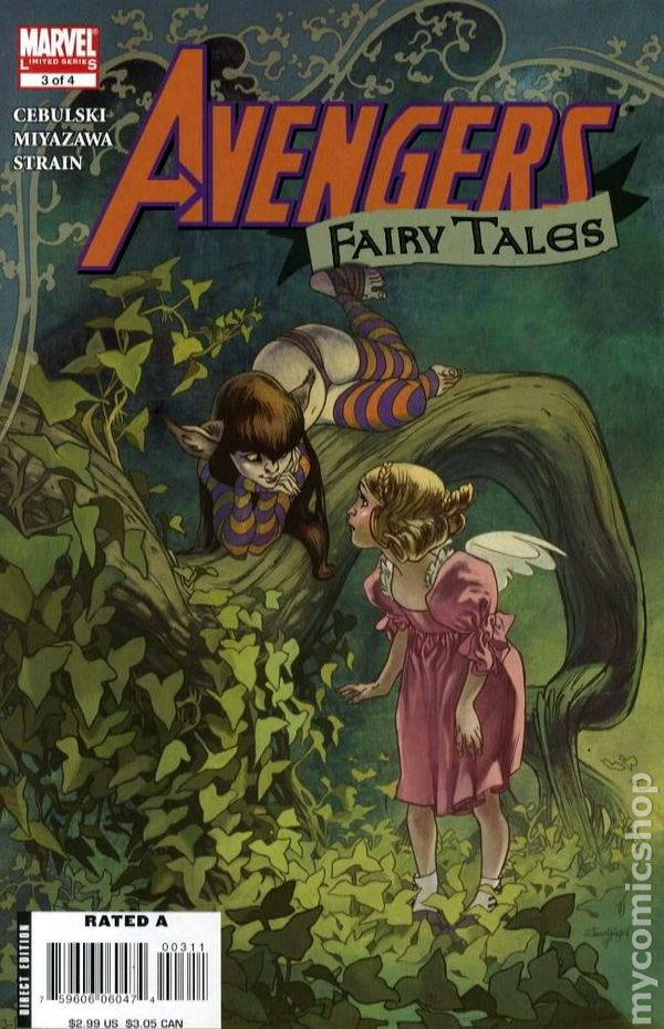 Avengers Fairy Tales 2008 Comic Books