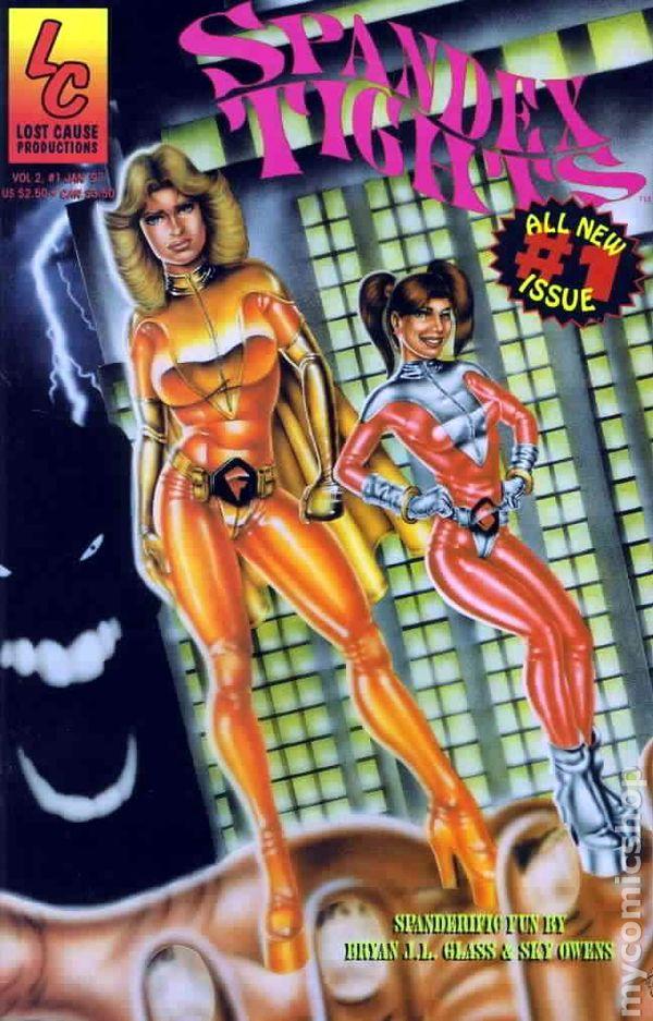 Spandex Tights 1997 comic books