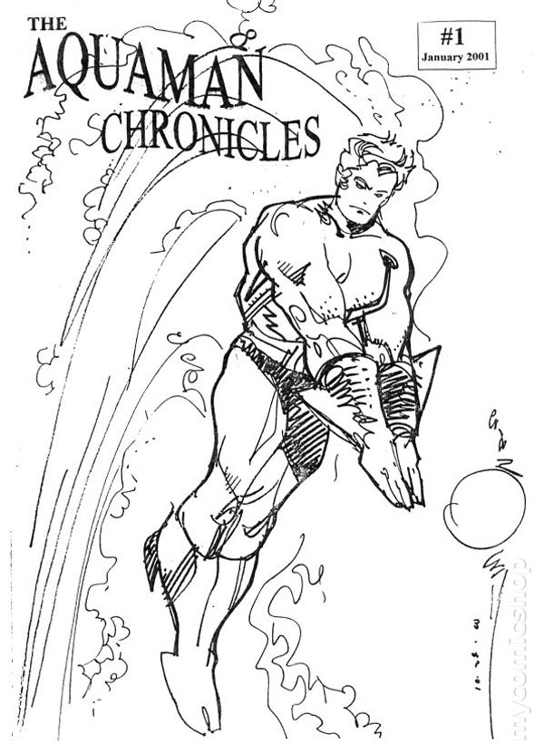Aquaman comic books issue 1