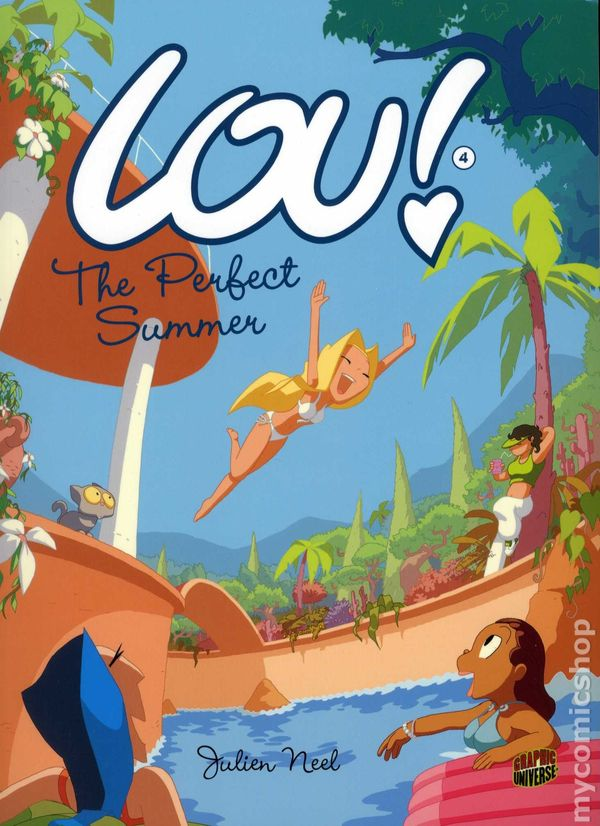 Lou GN 2012 Graphic Universe By Julien Neel comic books