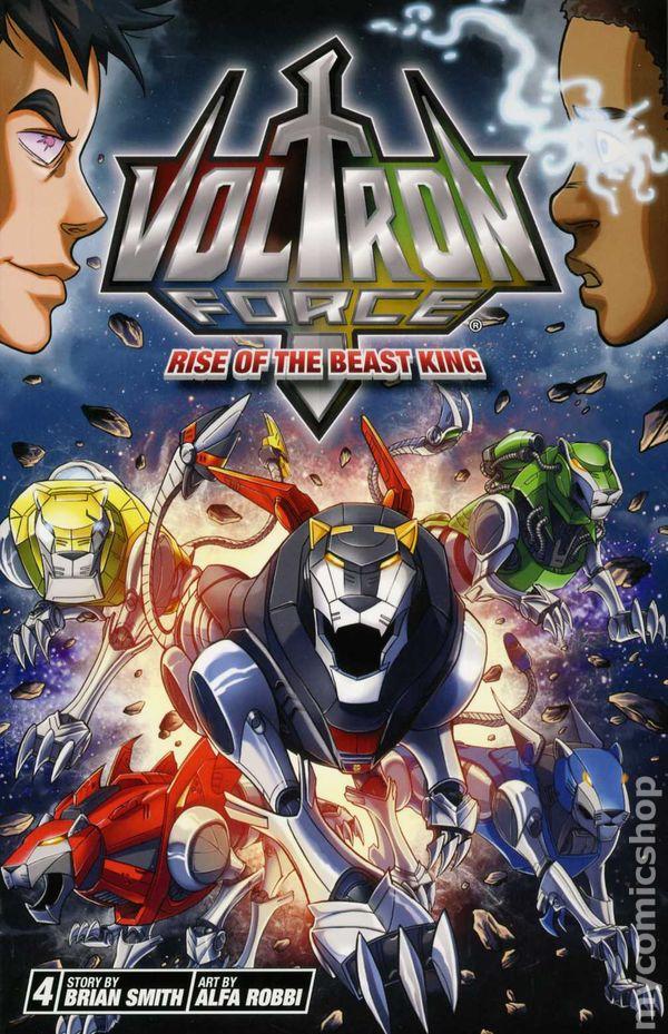 Voltron Force GN (2012-2013 A Viz Digest) comic books