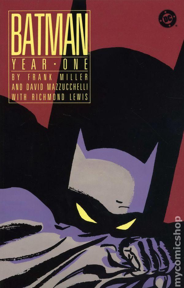 Comic books in Batman Year 1