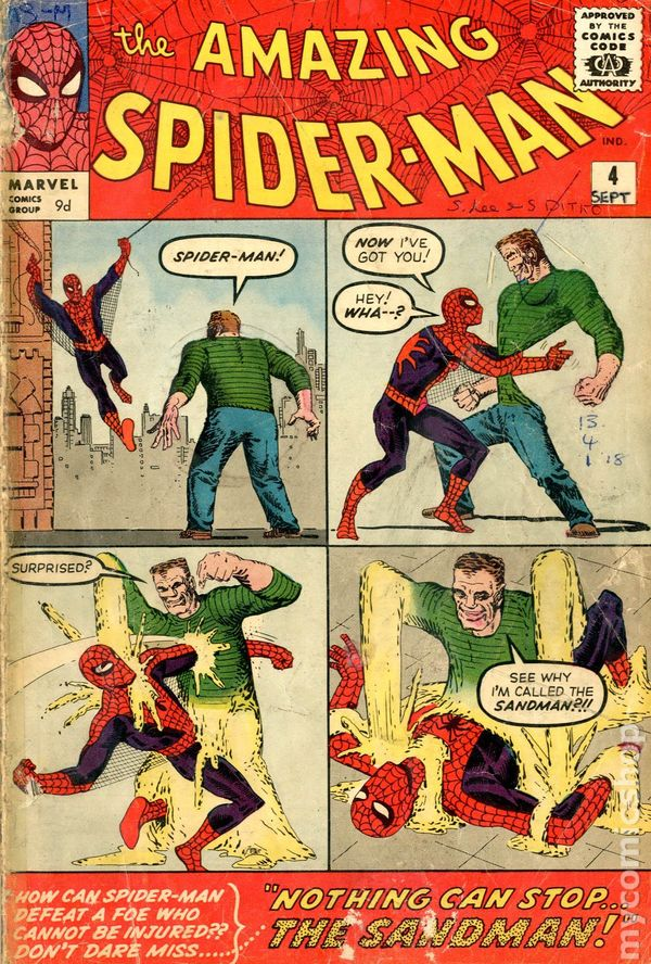 Amazing SpiderMan 1963 1st Series UK Edition comic