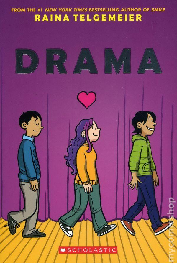 Drama GN 2012 Scholastic comic books