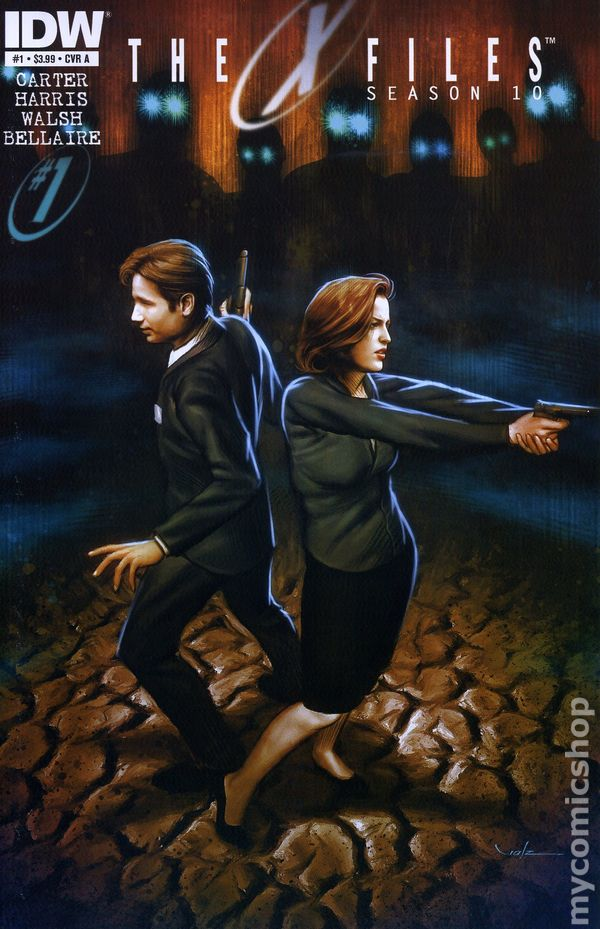 The X-Files Season 10 #1 Cover