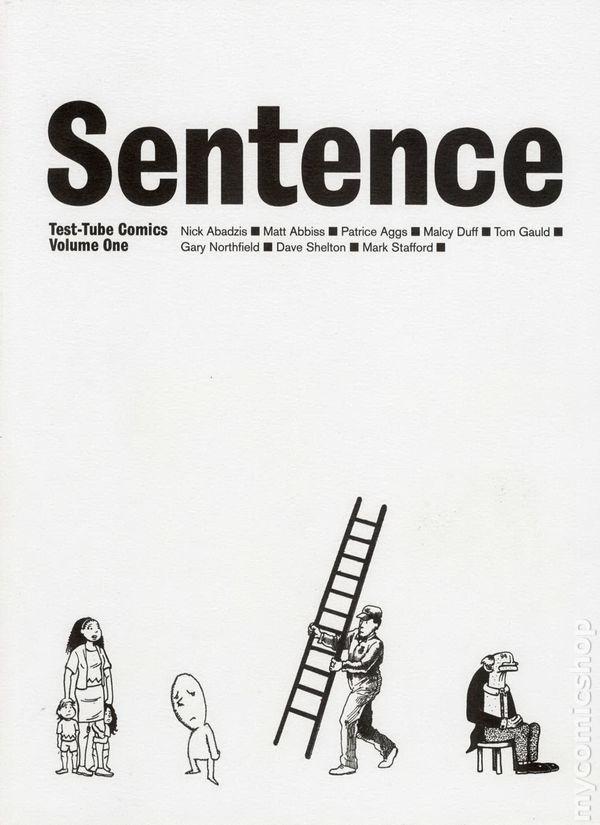 Test Tube Comics: Sentence TPB (2002) comic books