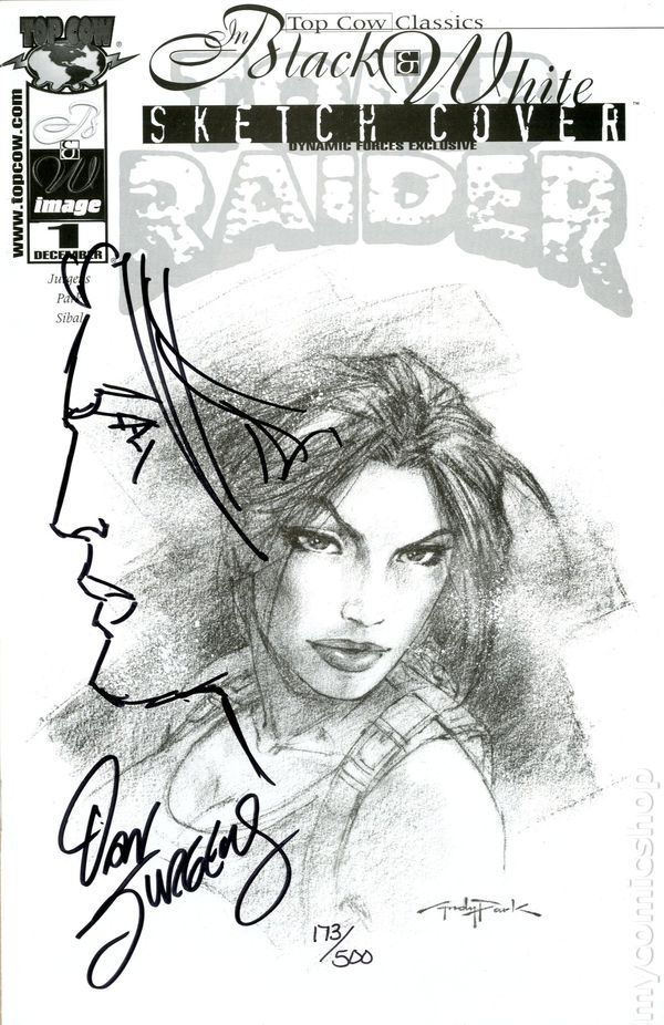 Top Cow Classics in Black and White Tomb Raider (2000