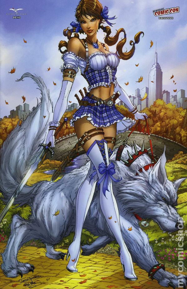 Another Anime Wallpaper Grimm Fairy Tales Presents Oz 2013 Zenescope Comic Books