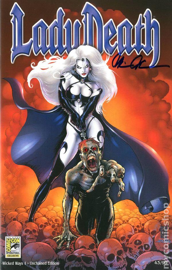 Lady Death Wicked Ways 2013 comic books