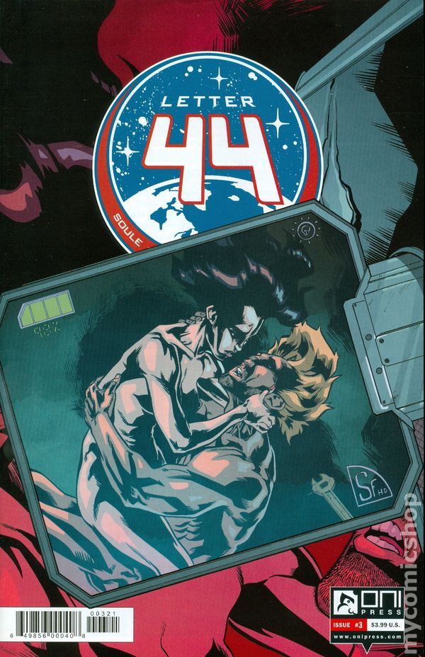 Letter 44 2013 Oni Press comic books