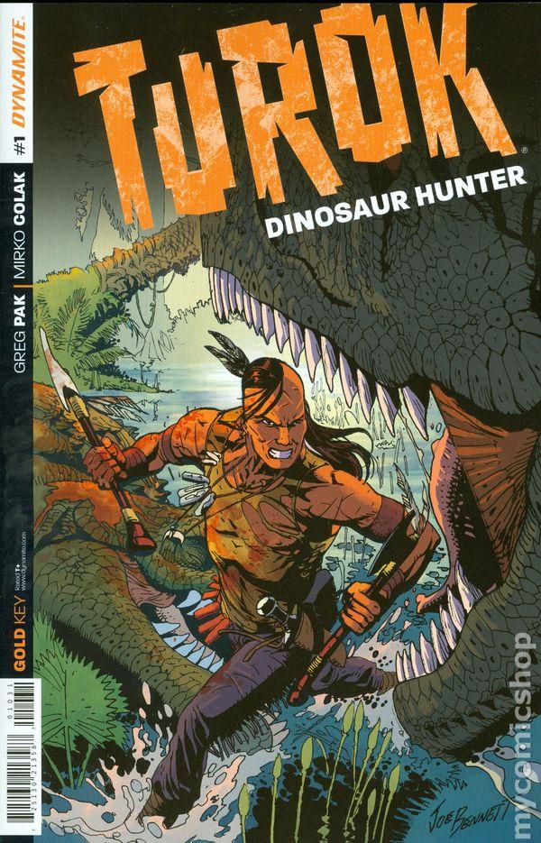 Turok Dinosaur Hunter 2014 Dynamite Comic Books
