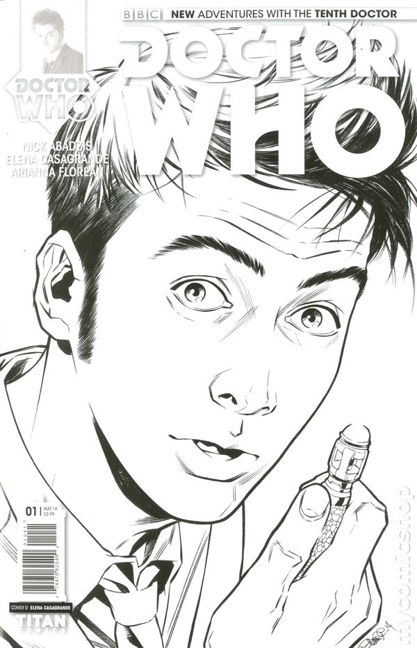 Doctor Who The Tenth Doctor (2014 Titan) comic books