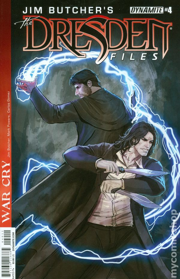 Dresden Files War Cry 2014 comic books