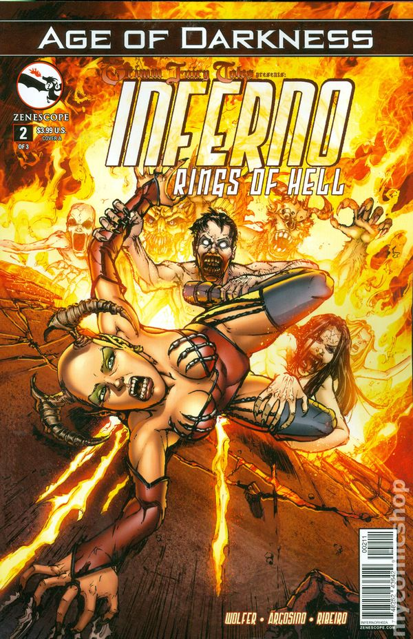 Grimm Fairy Tales Inferno Rings Of Hell 2014 Zenescope