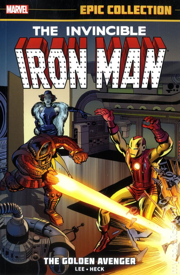 Comic Books In Marvel Epic Collection