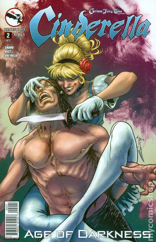 Grimm Fairy Tales Cinderella 2014 Zenescope comic books