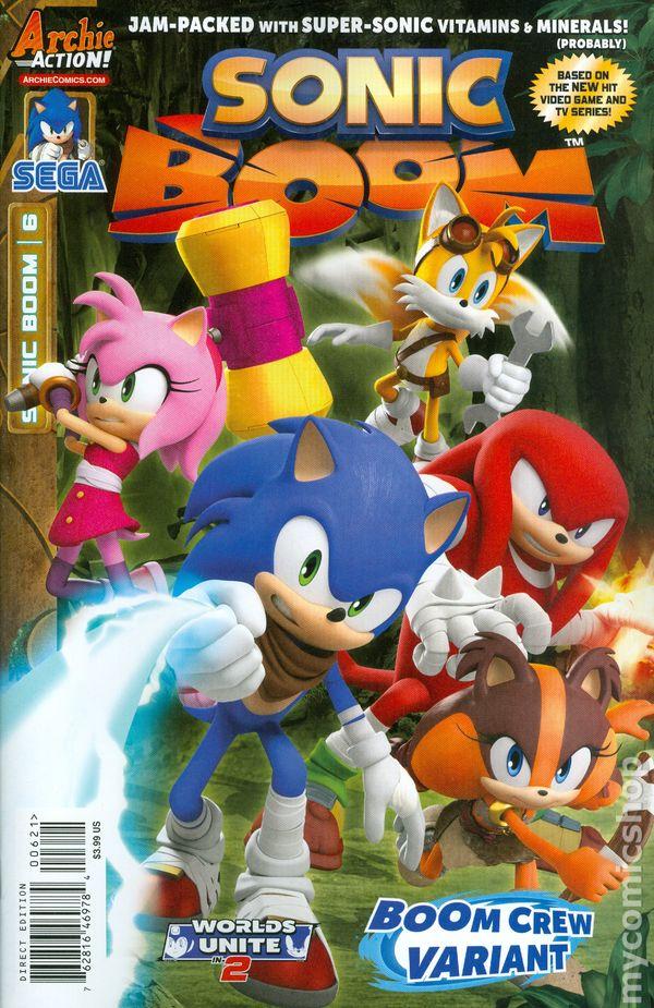Sonic Boom 2014 Archie comic books