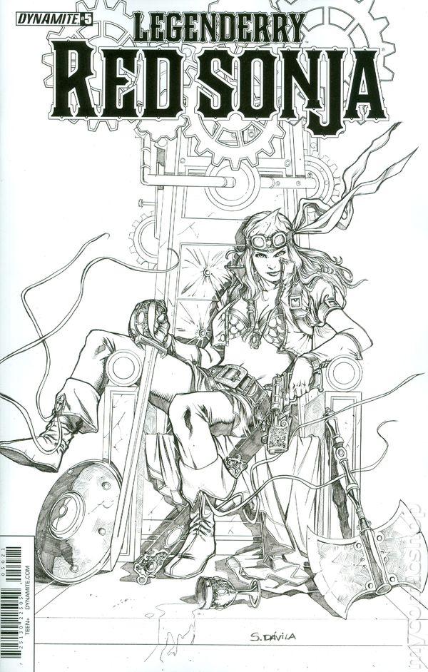 Legenderry Red Sonja (2015 Dynamite) comic books