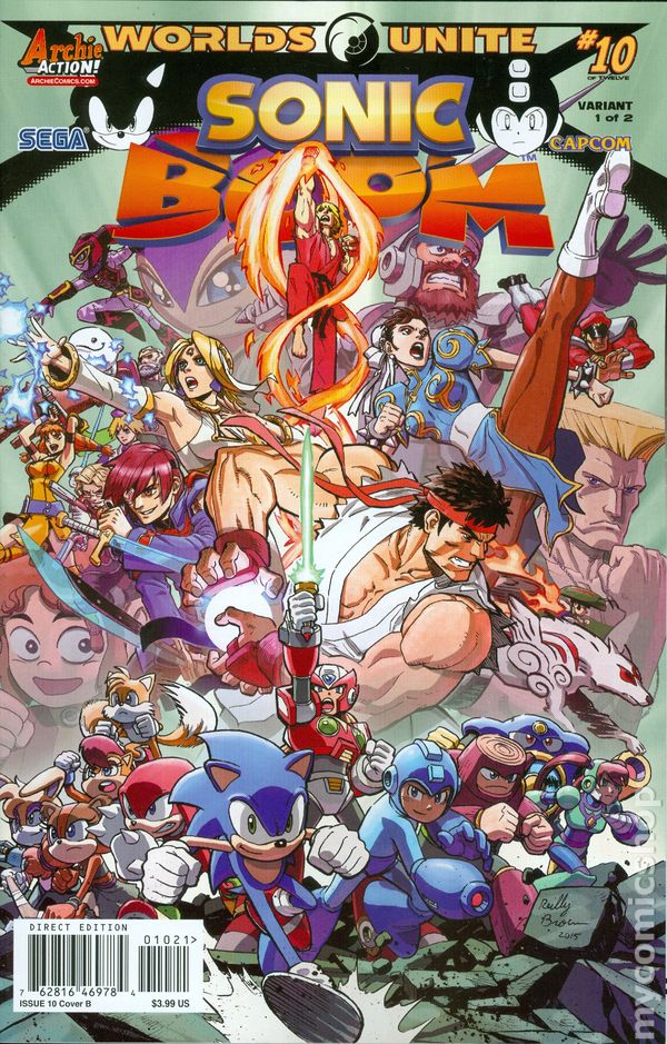 Sonic Boom comic books issue 10