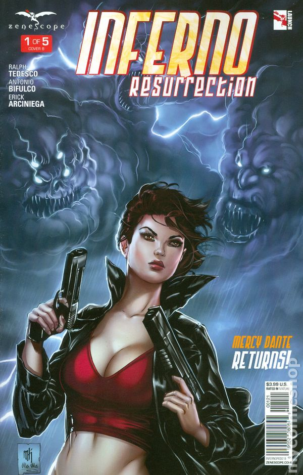 Inferno Resurrection 2015 Zenescope comic books