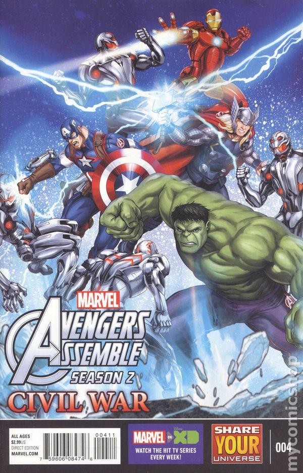 Avengers Assemble Civil War 2016 Marvel Universe comic books