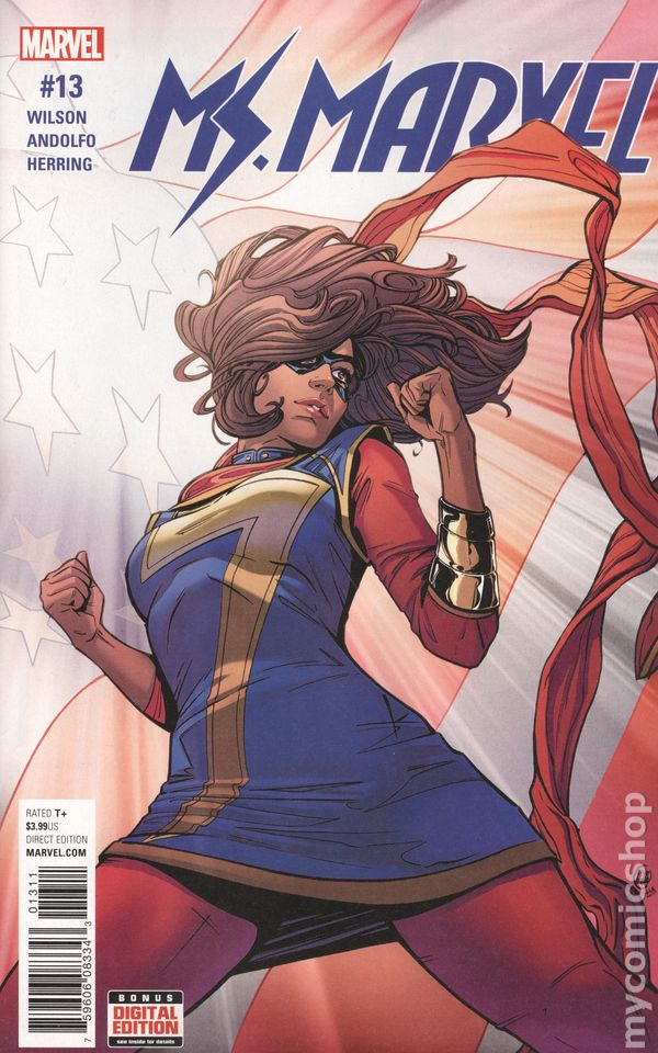 Islamic Girl Cartoon Wallpaper Ms Marvel 2015 4th Series Comic Books