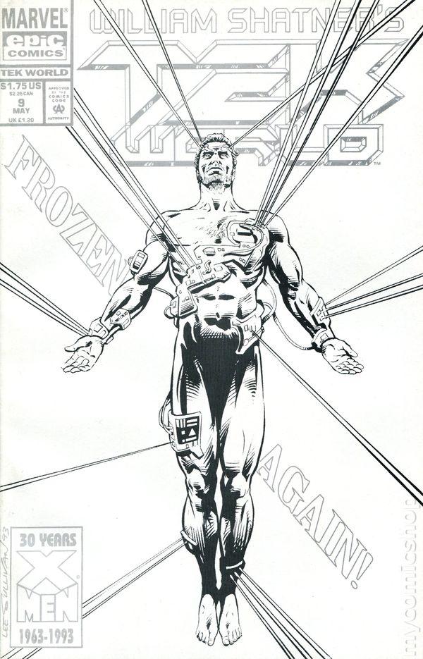 Tekworld (1992) comic books