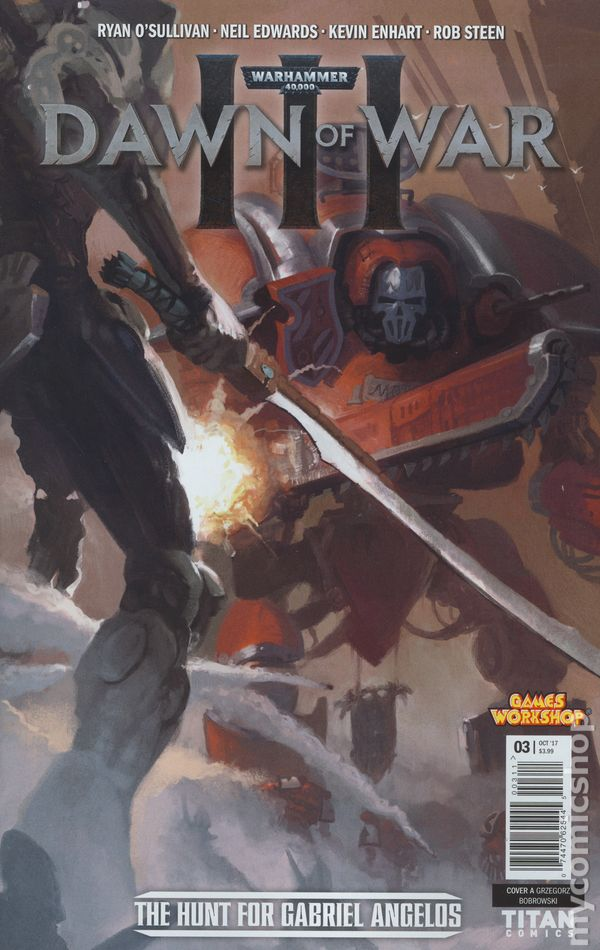 Dawn Of War Iii : Warhammer, 40000, (2017, Titan), Comic, Books, Grade, Lower