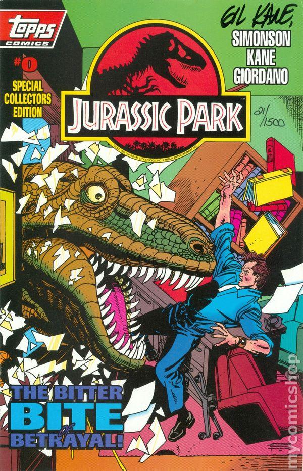Jurassic Park (1993) comic books